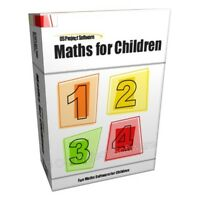Maths Learning PC Game for Children Kids Software CD