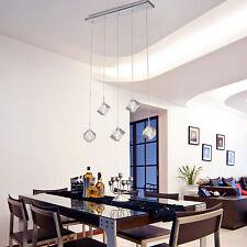 Crystal Ceiling 5 Light Dinner Room Pendant Lamp Kitchen Lighting Bar Chandelier