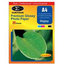 A4 Premium Glossy Sumvision Inkjet Deskjet Photo Paper 260gsm 100 sheets 4 Packs