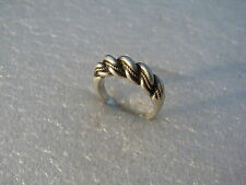 "Russian Imperial Latvian Silver 84 Ring ""Nameis""  6,7 gr."