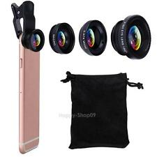 VODOOL 3 in 1 180° Fish-Eye Lens + Wide Angle Lens + Macro Lens Clip for iPhone