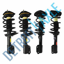 All (4) Front & Rear Complete Strut & Spring Assembly Chevy Impala and Intrigue