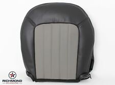 2004 2005 Mercury Mountaineer -Driver Side Bottom Leather Seat Cover 2-Tone Gray