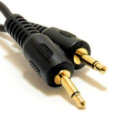 0.5m Jack Mono 3.5mm al conector Jack Mono 3.5mm Cable Lead 50cm Oro [007415]