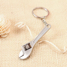 Metal Adjustable Creative Tool Wrench Spanner Key Chain Ring Keyring 1PC Mini