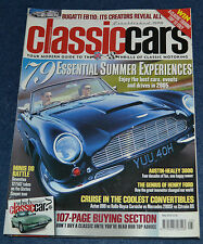 Classic Cars May 2005 Mazda RX-7 buying, Bugatti EB110, Mini 1275 GT, Corniche