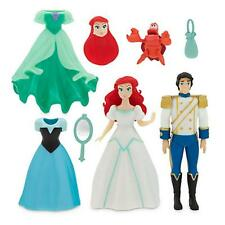 The Little Mermaid Ariel Prince Eric Deluxe Figure Fashion Set Disney NIB
