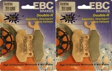 EBC HH Front and Rear Brake Pads 2008-2012 Kawasaki EX250F Ninja 250R  / FA197HH