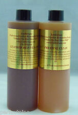 LEATHERIQUE LEATHER RESTORATION REJUVENATOR OIL PRESTINE CLEAN 16OZ.