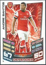 TOPPS MATCH ATTAX 2012-13- #004-ARSENAL-ANDRE SANTOS