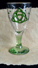 Chalice  Wicca Pagan Altar Triquetra  Goblet Witchcraft Hand-fasting Gift