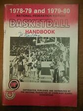 1978-80 National Federation Edition Basketball Hand Book State High School1229SM