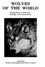 Wolves of the World: Perspectives of Behavior, Ecology and Conservatio-ExLibrary
