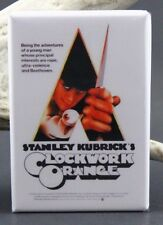 "Clockwork Orange Movie Poster 2"" X 3"" Fridge / Locker Magnet. Cult Classic"