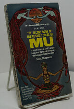The Second Book of the Cosmic Forces of Mu by James Churchward - First paperback