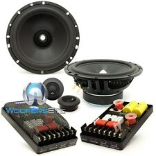 "CDT AUDIO HYBRID-65 6.5"" 2-WAY 4-OHM COMPONENT SPEAKERS MIDS CROSSOVERS TWEETERS"