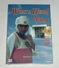 """Andy Lau """"What a Hero!"""" Maggie Cheung HK Remastered RARE OOP Region All DVD"""