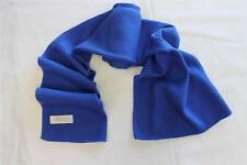 H237  NWT Gorgeous Blue Color Knitted 100% Pashmina Scarf  Handmade In Nepal