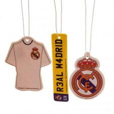 Real Madrid Fc 3pk Air Freshener Car Smell Fresh Football Shirt Number Plate New
