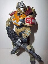 Halo Reach Series 1 **JORGE** McFarlane Figure 100% Complete w/ Weapons!!