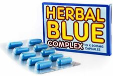 20 x GENUINE HERBAL BLUE COMPLEX 300mg - 100% HERBAL - IMPOTENCE REMEDY
