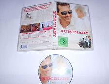DVD Rum Diary 2013 mit Johnny Depp  Schräg, Lustig, Berauschend  O5 10