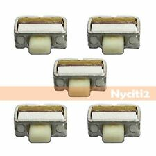 5x 4mm Power Volume Switch Button For Samsung Galaxy S3 i9300 / Note T879