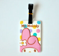 New Cute My Melody Luggage Tags Holder Travel Suitcase Baggage Holder Pendant
