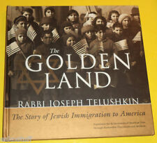 The Golden Land 2002 Jewish Immigration To America First Edition Great Pics See!