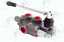 "Hydraulic Spool Valve 3/8"" BSP Double Acting, Ideal For Log Splitters"