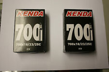 2 X 700 X 25 ROAD BICYCLE INNER TUBES PRESTA VALVE
