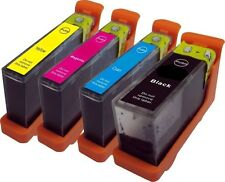 Set of 4 No 100XL Inkjet Cartridges Compatible With Lexmark Pro 705