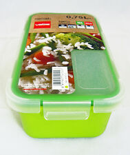 Valira Nomad Airtight Clip Food Container Lunch Box 0.75L Lime Green BPA Free