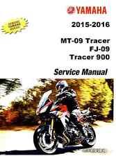 CD Version - 2015 2016 Yamaha MT09 MT 09 FJ09 FJ Tracer 900 service manual