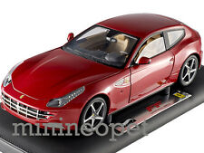 HOT WHEELS SUPER ELITE X5490 FERRARI FF V12 FOUR 4 SEATER 1/18 RED
