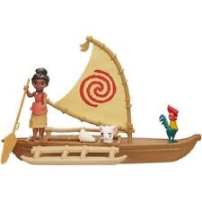 Disney Moana Floating Adventure Canoe Hei Hei and Pua Create Fun Adventures
