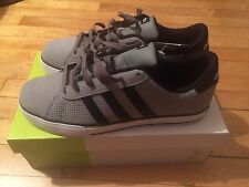 Adidas NEO Mens SE Daily Vulc Lifestyle Skateboard Size 9.5 Gray Black White