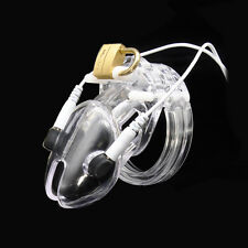 New Arrival Clear Electro Chastity Device (ECB) Small Size A192-1