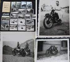 20 Original Fotos /  Nachlass Oldtimer Motorrad / Motorräder um 1930 - 1950