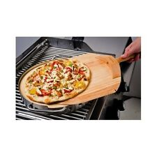 BBQ Grill Pizza Stone Set Outdoor Indoor Grilling Oven Round Peel Cooking Cutter