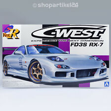 Aoshima 008102-S-package ­. R C-West fd3s rx-7 - 1:24 series nº 70