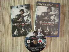 PLAYSTATION 2 PS2 MEDAL OF HONOR VANGUARD USADO BUEN ESTADO