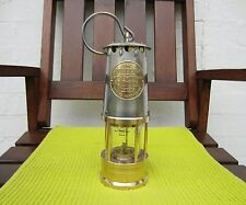 VINTAGE MINERS TYPE SAFETY LAMP. THE PROTECTOR LAMP AND LIGHTING CO.LTD. TYPE 1A