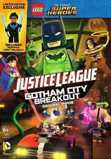 Lego Dc Super Heroes-justice League-gotham City Breakout [dvd/figure] (Warn