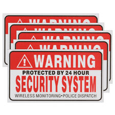 CCTV Security In Operation Camera Warning Sign Sticker Decal Surveillance5pcs