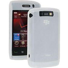 Original Blackberry Storm (9520, 9550) de piel de silicona – Blanco