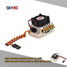 SkyRC TS120 120A 2-3S LiPo Battery ESC with 6V/3A BEC for RC Car Golden N1G1