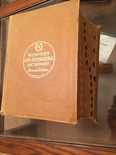 1949 Webster's New International Dictionary Second Edition Good Condition