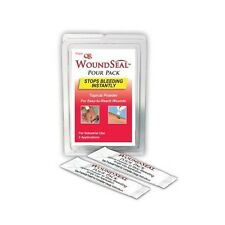 2 COUNT WOUND SEAL QR BLOOD STOPPER STOP THE BLEEDING FAST POUR PACK