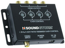Sound Storm Laboratories SVA4 Video Amplifier 1 In 4 Out